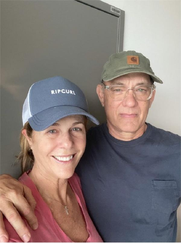 tom hanks rita wilson recuperating from coronavirus  return to u s