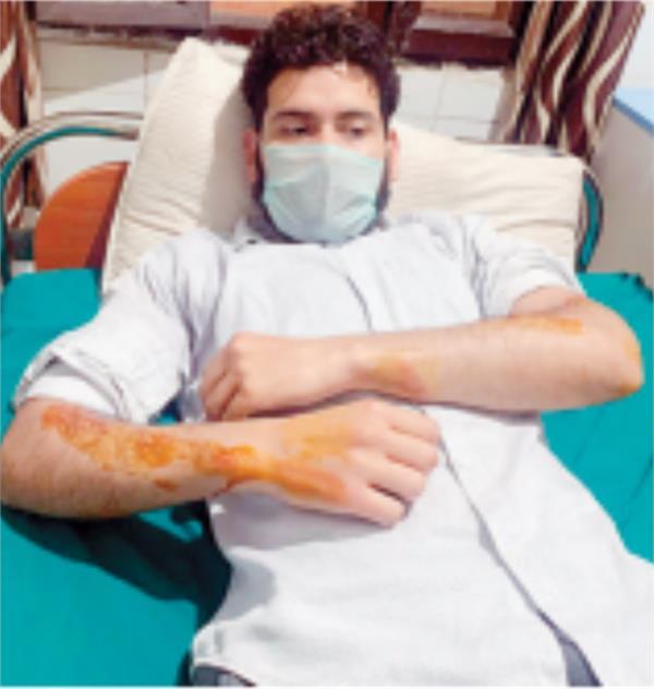 kapurthala curfew coronavirus boy beaten