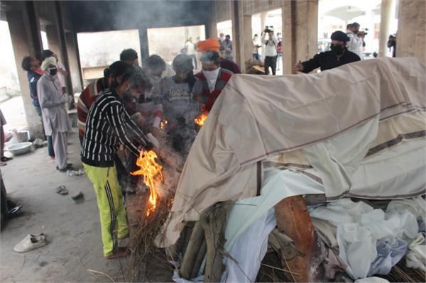 kabur gurdwara attack 2 sikhs creamation in ludhiana