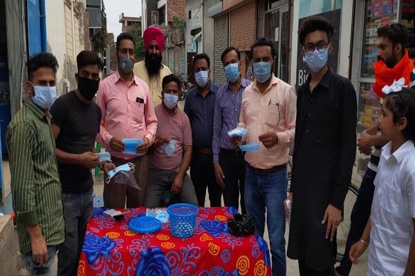 coronavirus budhlada precautions mask sanitizer