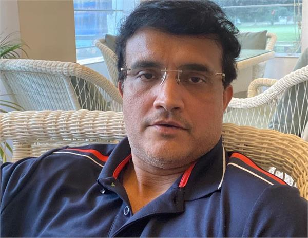 corona virus fear ganguly gets free time selfie post wrote this comment