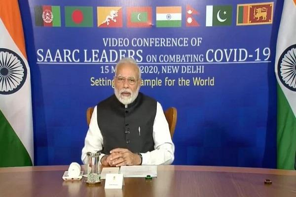 corona pm modi will fight jointly with saarc countries need to be cautious