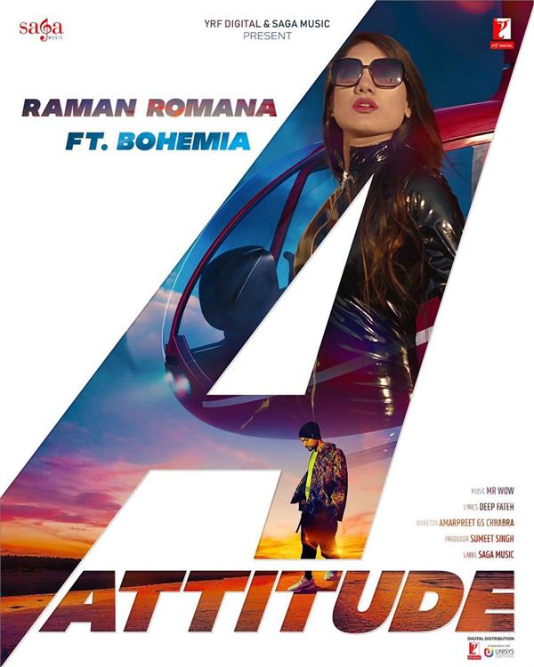 raman romana attitude song first look