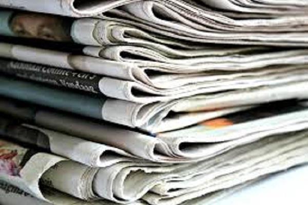 corona virus newspaper supply closed