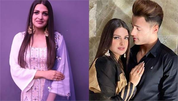 himanshi and asim riaz relationship tweet on her handler