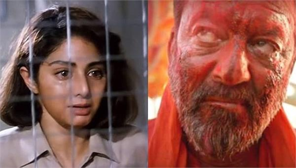 drunk sanjay dutt tried to enter sridevis make up room