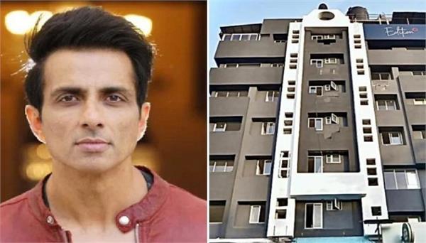 coronavirus mumbai sonu sood opens his juhu hotel for medical staff