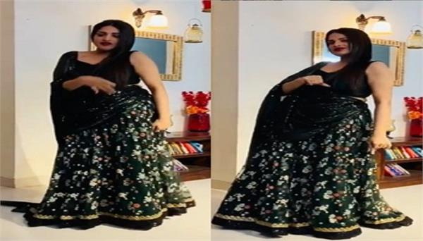 asim riaz shares a video of himanshi khurana dance song genda phool