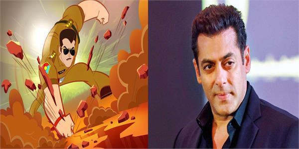 salman khan s chulbul pandey character is getting an animated avatar