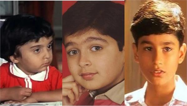 kunal khemu  jugal hansraj and raju shrestha was child artist