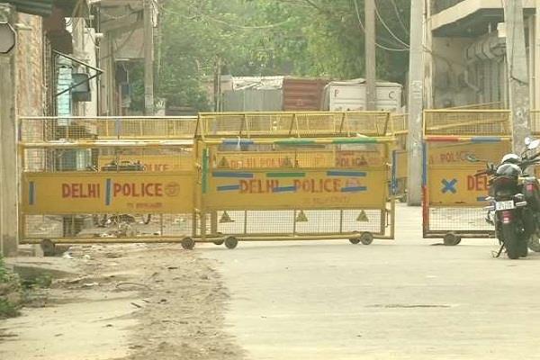 14 new hotspot area delhi govt