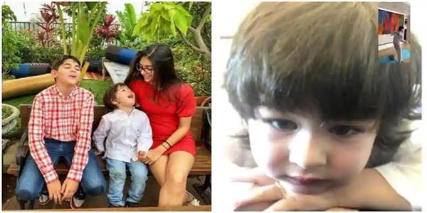 karisma kapoor shares pic of taimur watching cousin kiaan at taekwondo lesson