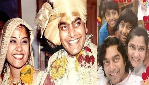 renuka shahane ashutosh rana celebrates 19th wedding anniversary