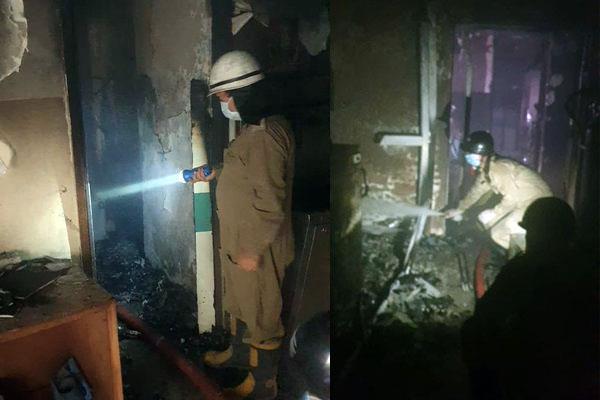 fire at delhi  s cygnus orthocare hospital