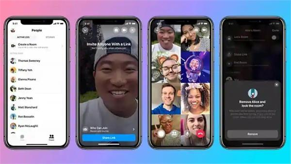 facebook messenger room support on instagram  50 people can video call together